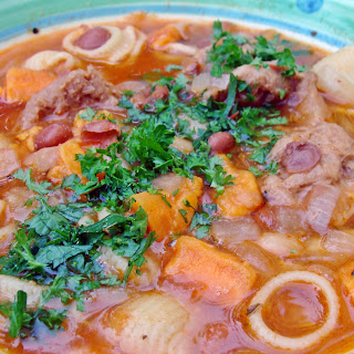 Sopa de Frijoles (Peruvian Bean Soup) [Vegan]