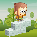 Jumpy Zoo: Bouncy Cube Dash icon