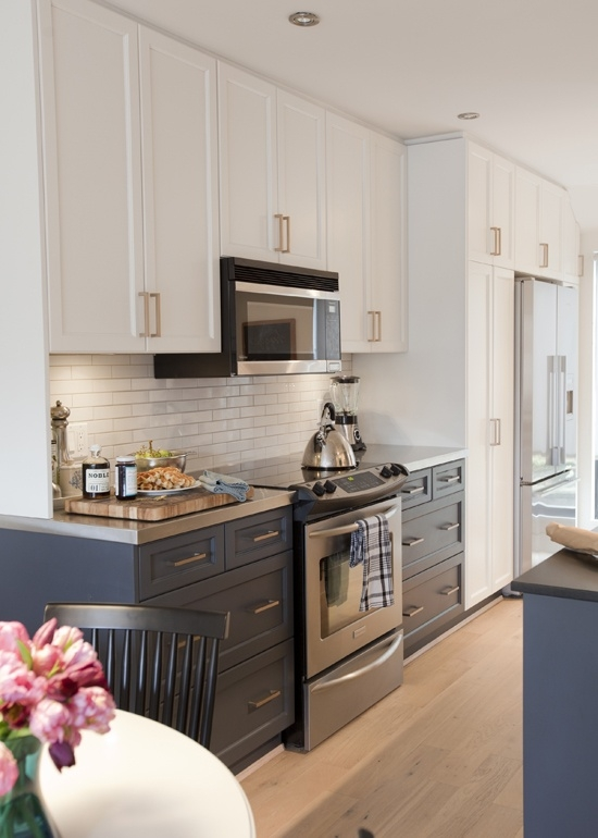 Home - 2017 - 5 kitchen trends Kitchen Trend Tuxedo Cabinets on tuxedo kitchen young house love, tuxedo kitchen cabinwts, lowe's pantry white cabinets,