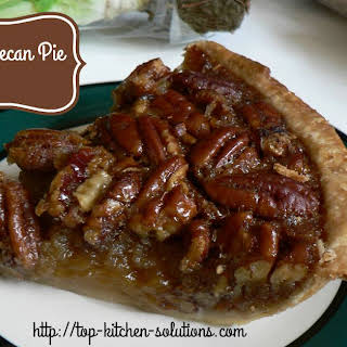 Easy Southern Pecan Pie.