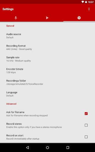 Voice Recorder Pro 2.93 19