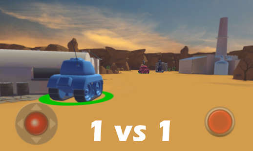 Tanks Battle - Wifi- screenshot thumbnail