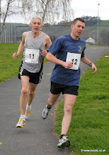 Photo: 1st Double Duo to cross the Finishing Line