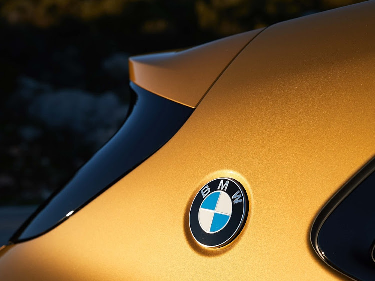 The BMW badge returns to the C-pillar for the first time since the 1970s