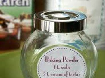 Baking Powder, Homemade Recipe