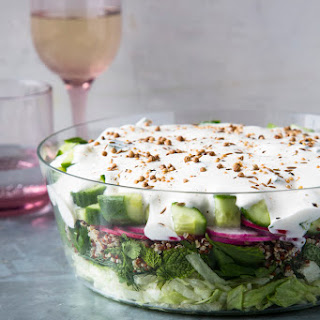 Middle Eastern Sever-Layer Salad