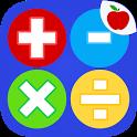 Math Practice Flash Cards icon