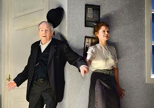 """Photo: WIEN/ THEATER IN DER JOSEFSTADT: """"LIEBELEI"""" von Arthur Schnitzler. Premiere 4.9.2014. Otto Schenk, Alma Hasun Foto-Copyright: Barbara Zeininger"""