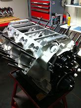 Photo: De Motor van de mini weer met zuigers.