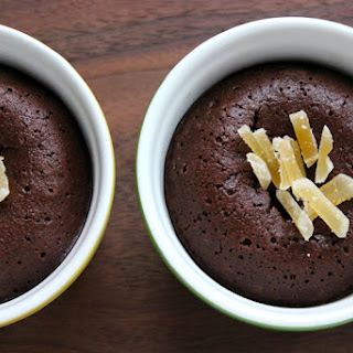 Spiced Molten Chocolate Cakes