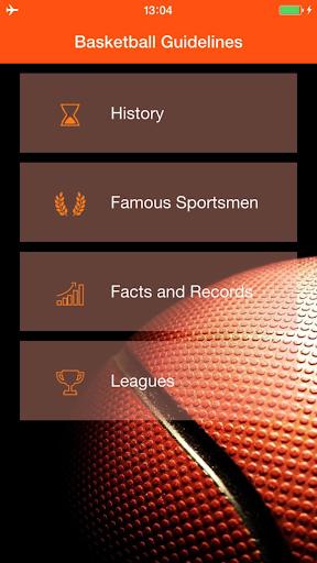 無料书籍AppのBasketball Guidelines|記事Game