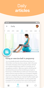 Pregnancy + tracker Screenshot