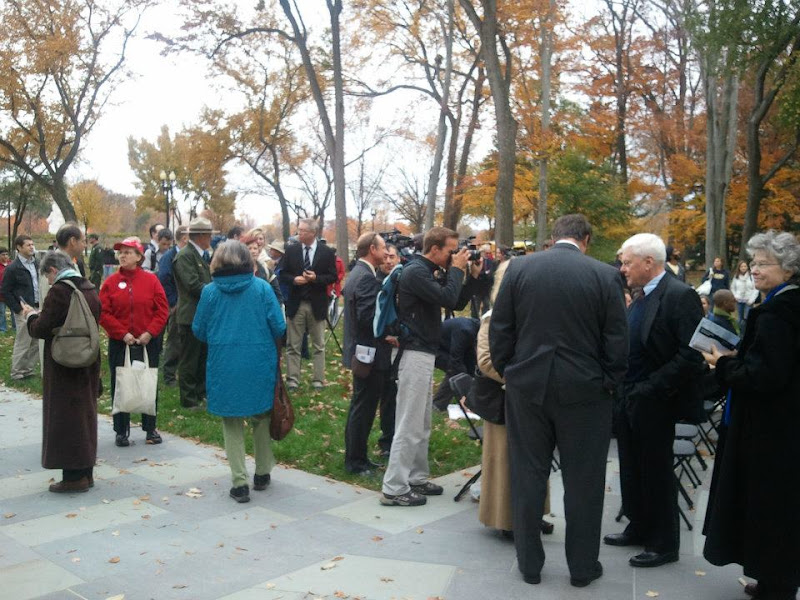 Photo: WWI Memorial Reopening
