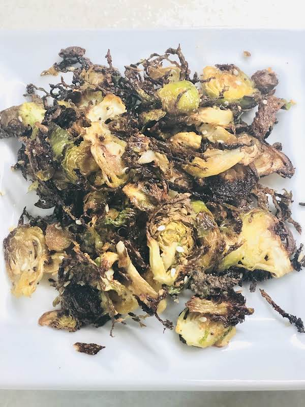 Shaved & Roasted Brussel Sprouts