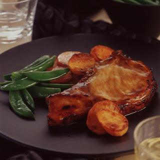 Honey Pork with Sweet Potatoes