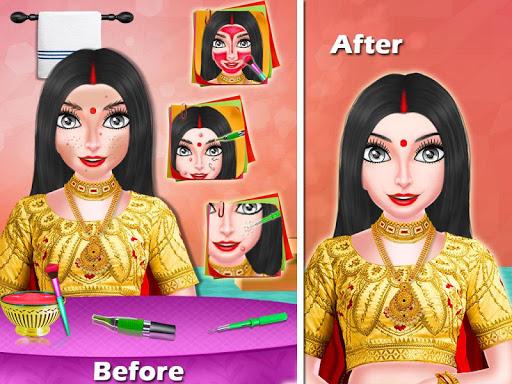 Indian Bhabhi Makeup Salon Game 1.1 screenshots 5