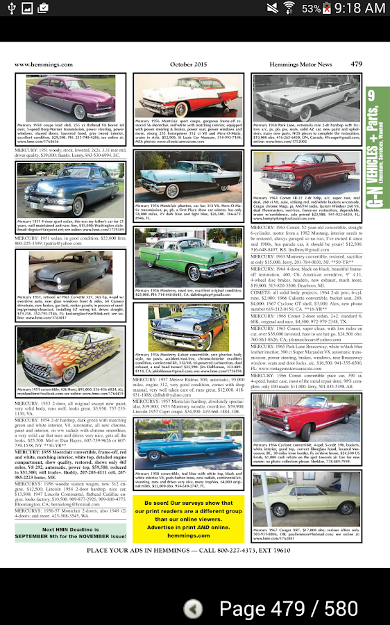 Hemmings Motor News- screenshot
