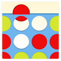 Four in a Row Puzzles icon