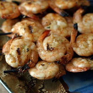 30 Whiskey Soaked Shrimp.