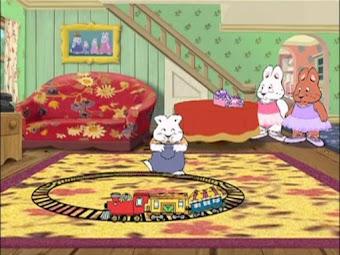 Ruby's Puppet Show | Sugar Plum Max |  Max's Ant Farm