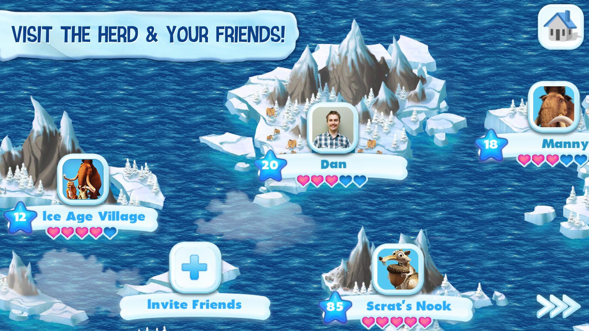 Ice Age Village screenshot #11