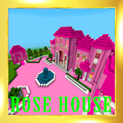 Pink princess house 2018 map for MCPE!