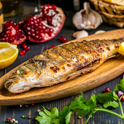 9. Grilled Sea Bass