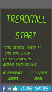 Treadmill simulator 4