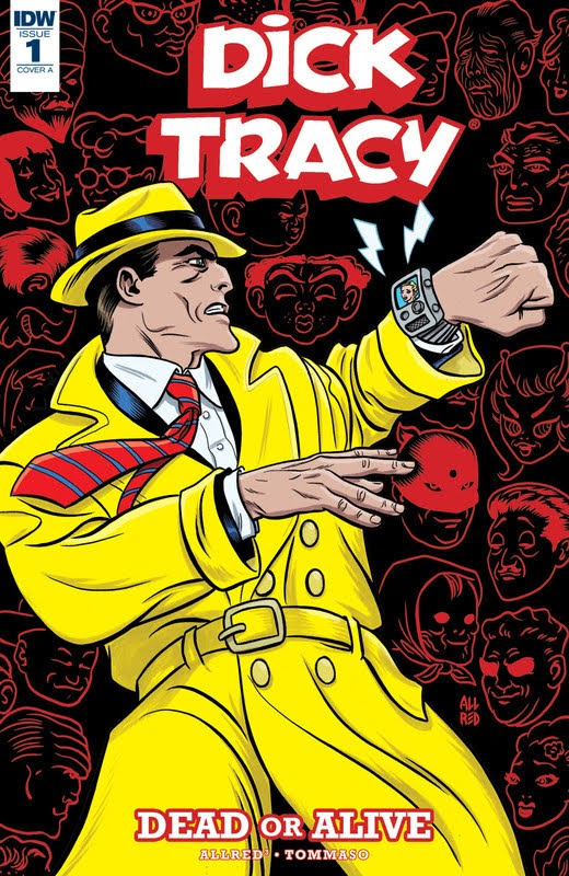 Dick Tracy: Dead Or Alive (2018) - complete