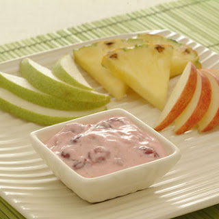 Cranberry Dip with Fresh Fruit