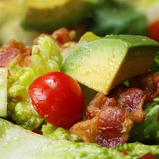 Bacon, Lettuce, Tomato, and Avocado Salad.