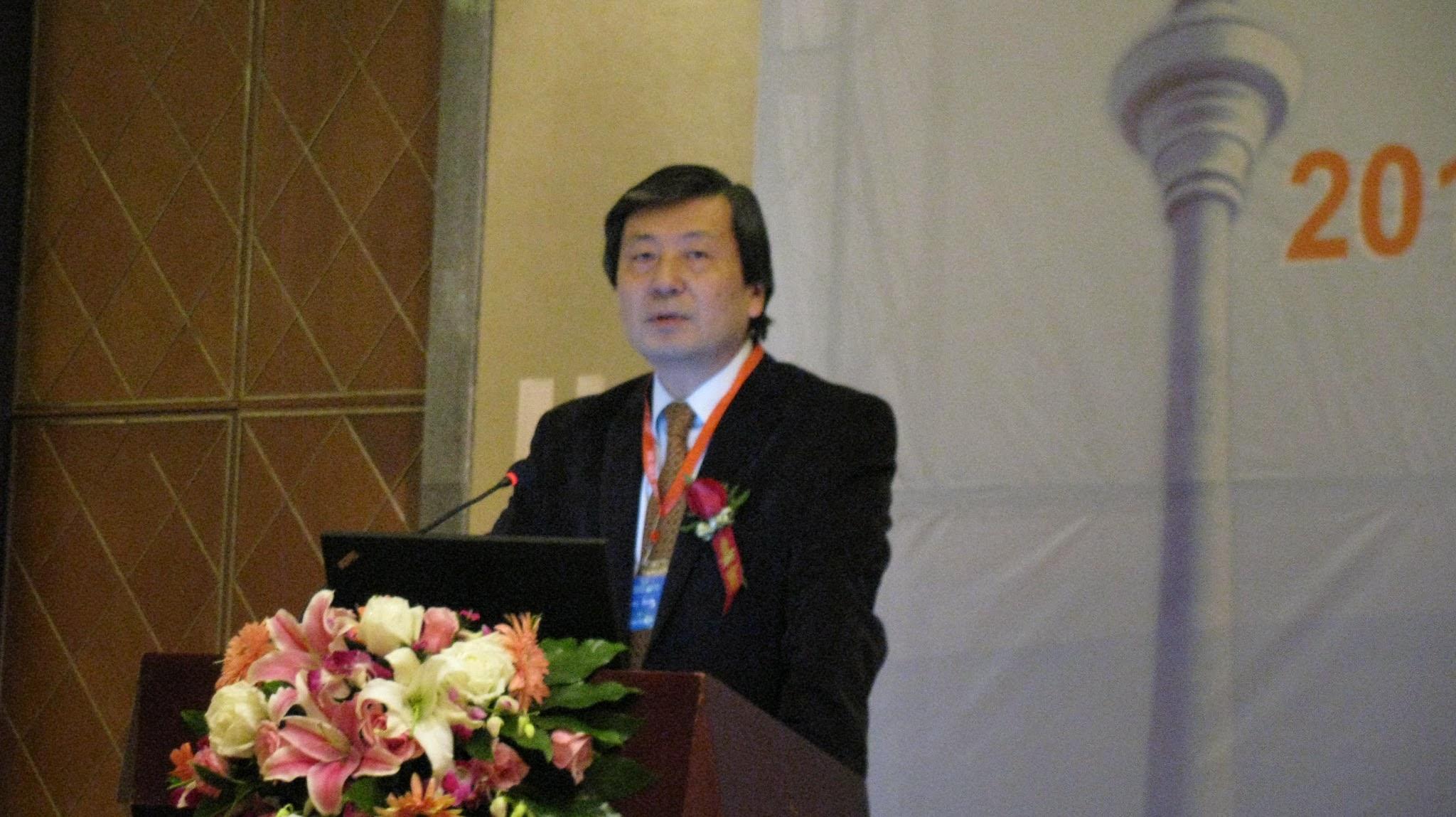 Photo: plenary talk by Professor Asada (Dec. 15, Wed.)