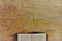 It is written
