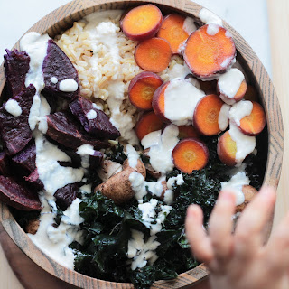 Vegan Rice & Root Vegetables