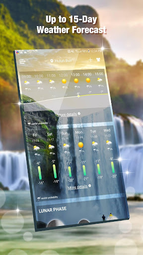 Daily Live Weather Forecast App 15.6.0.46270 screenshots 2