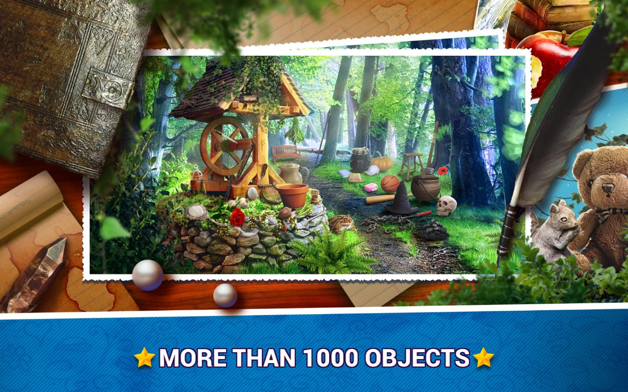 Hidden Objects Fairy Tale- screenshot