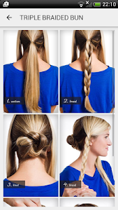 Hairstyles step by step screenshot 1