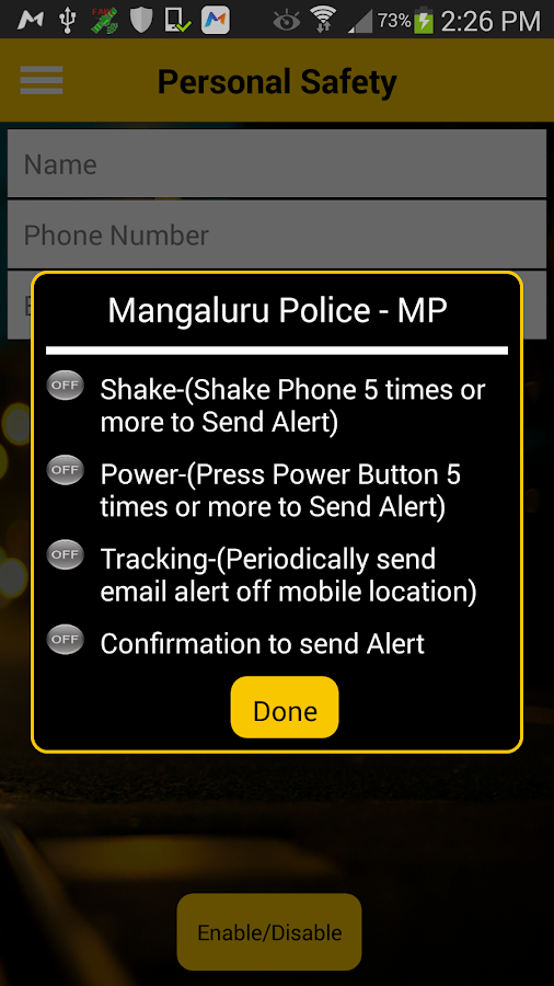 Mangaluru Official Police - MP- screenshot