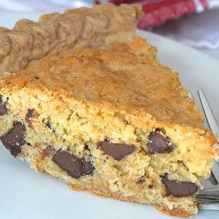 Oatmeal Chocolate Chip Cookie 'Crack' Pie.
