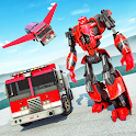 Robot Fire Fighter Rescue Truck icon