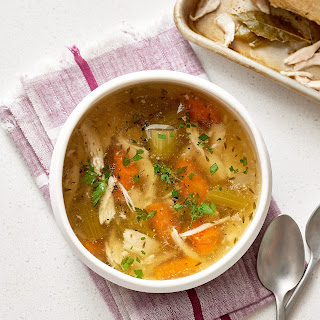 Slow Cooker Whole Chicken Chicken Soup.