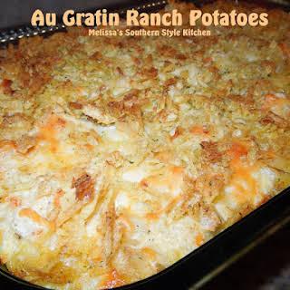 Au Gratin Ranch Potatoes.