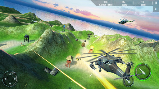 Helicopter Air Gunship : Modern War apktram screenshots 7