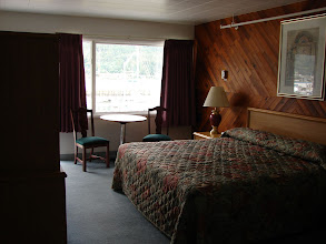 Photo: A room at the Breakwater Inn in Juneau.