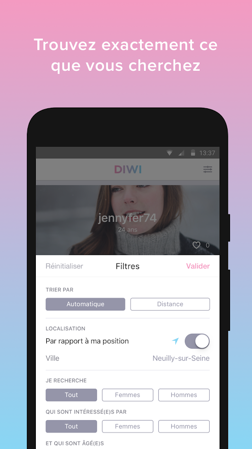 Diwi- screenshot