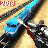 Sniper 3D : Train Shooting Game