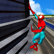 Spider Hero in Action: Street Fighting City Battle