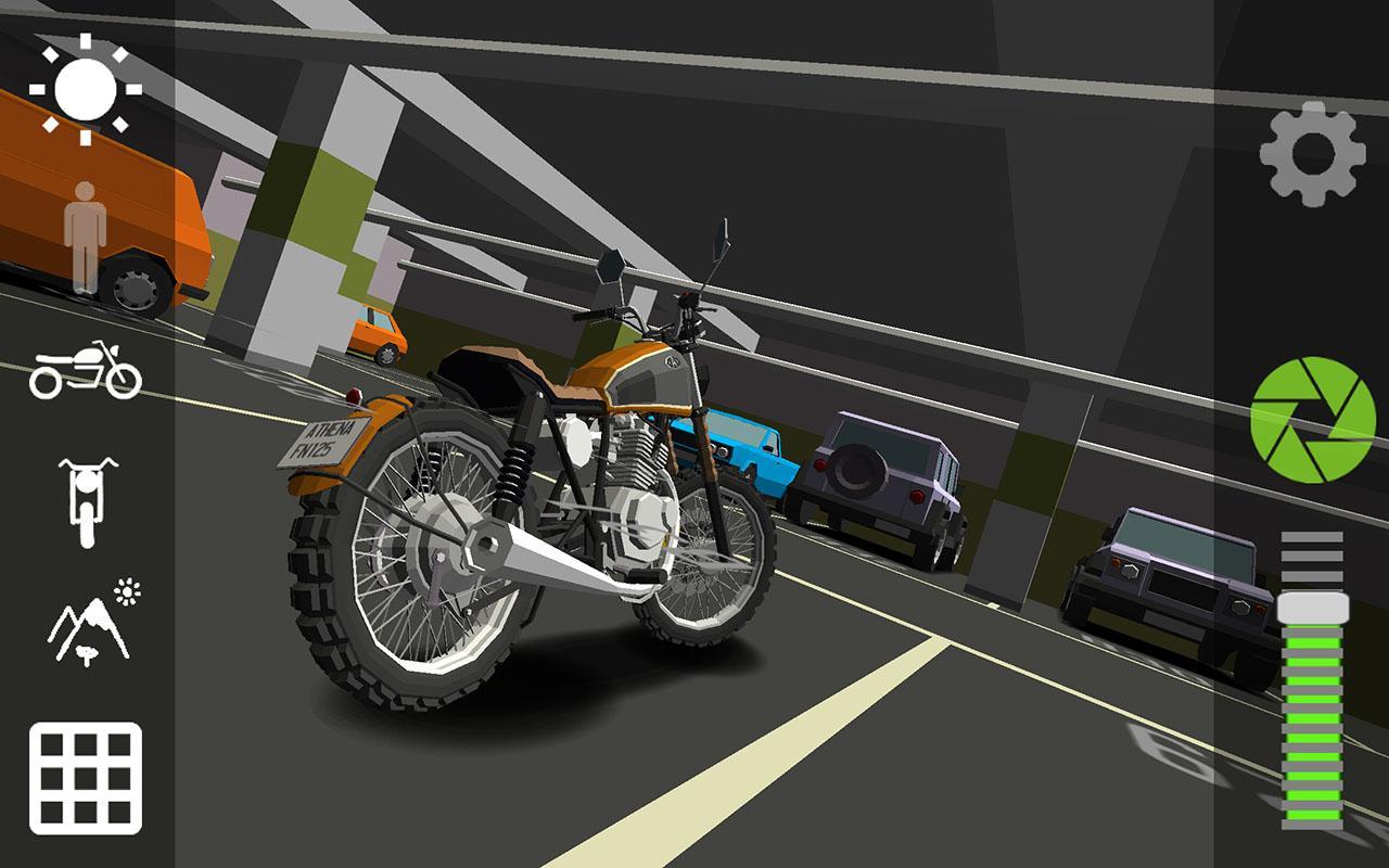 Simulation Cafe Racer