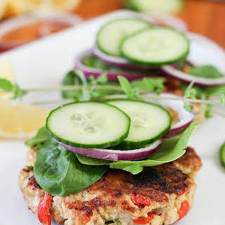 Greek Chicken Burgers.
