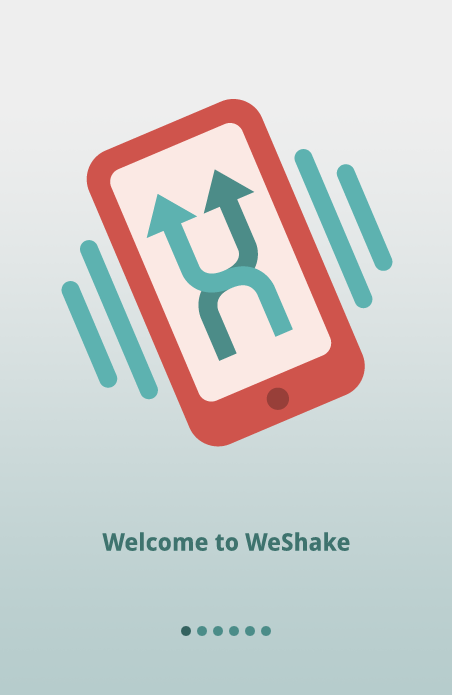WeShake- screenshot
